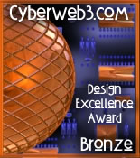 CyberWeb3.com Design Excellence Award (Bronze)