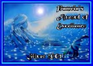 Pamela's Award of Excellence (Silver)