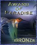 Award of Paradise Bronze Award
