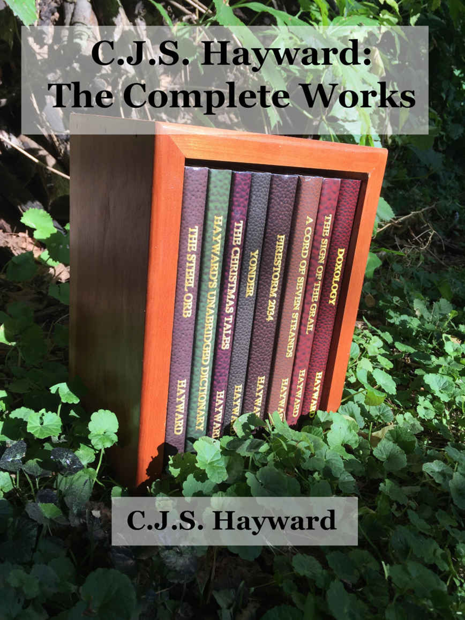 "The cover to C.J.S. Hayward's ""The Complete Works"" collection"