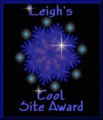 Leigh's Cool Site Award