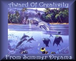 Award of Creativity From Summer Dreams