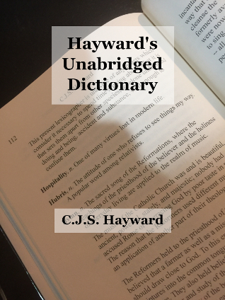 Cover for Hayward's Unabridged Dictionary