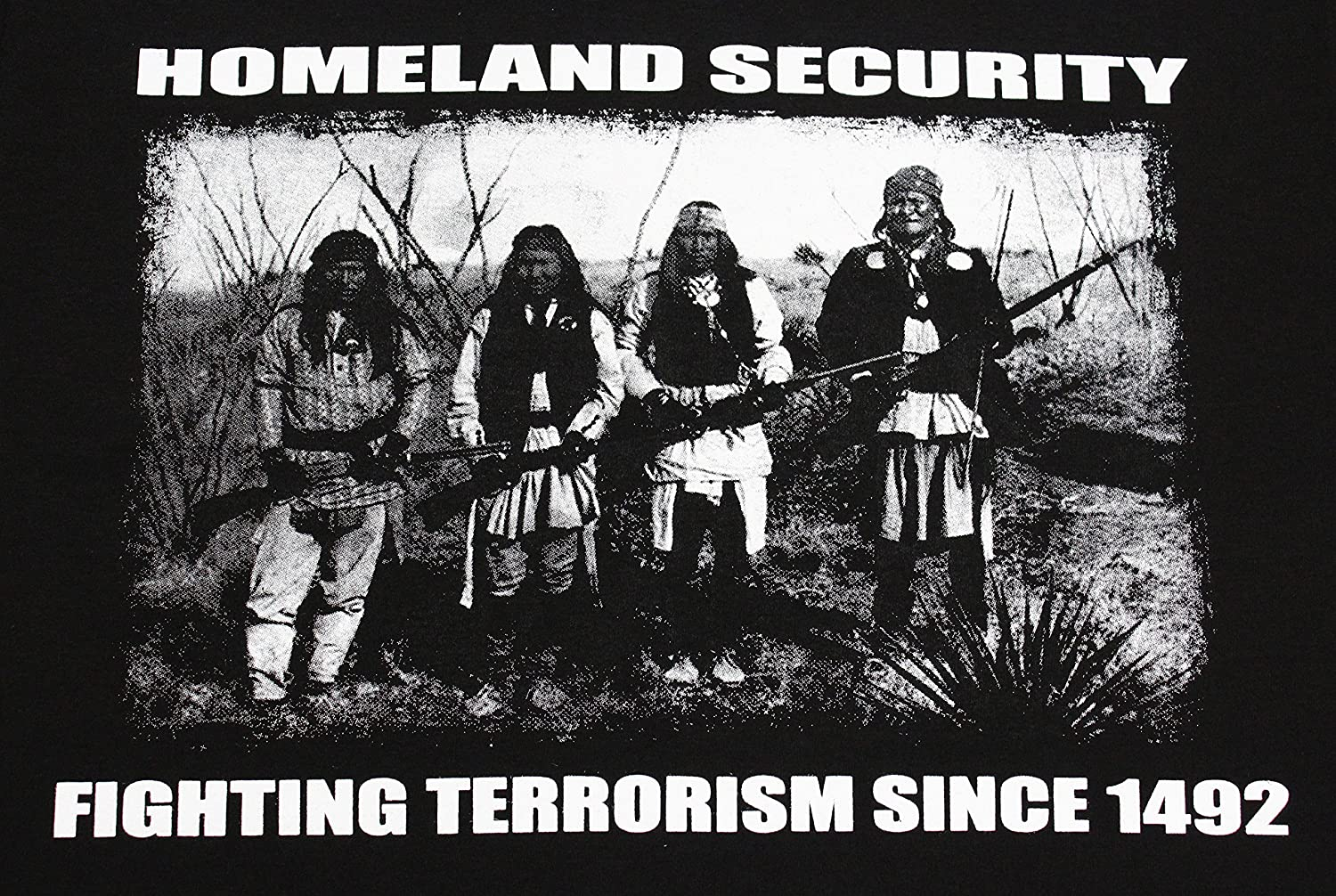 Homeland Security: Fighting Terrorism Since 1492.