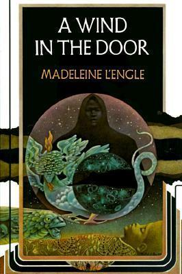 "A cover image for Madeleine l'Engle's ""A Wind in the Door"""