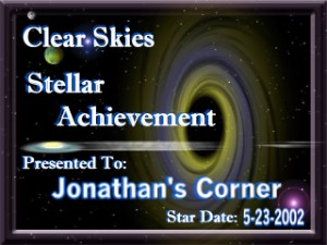 Clear Skies Stellar Achievement