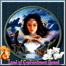 Judy's Land of Enchantment Award