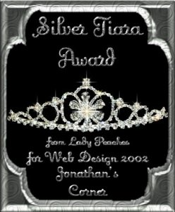 Lady Peaches Silver Award