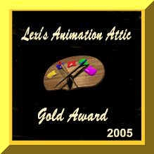 Lexi Animation Attic Gold Award