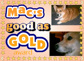 Mac's Good as Gold Award