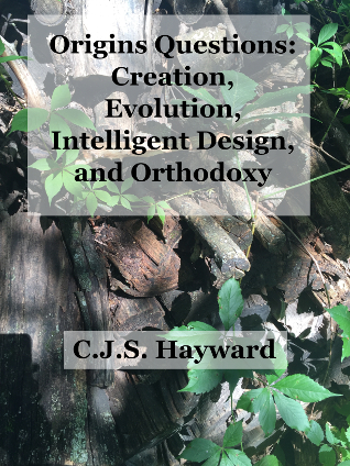 Cover for Origins Questions: Creation, Evolution, Intelligent Design, and Orthodoxy