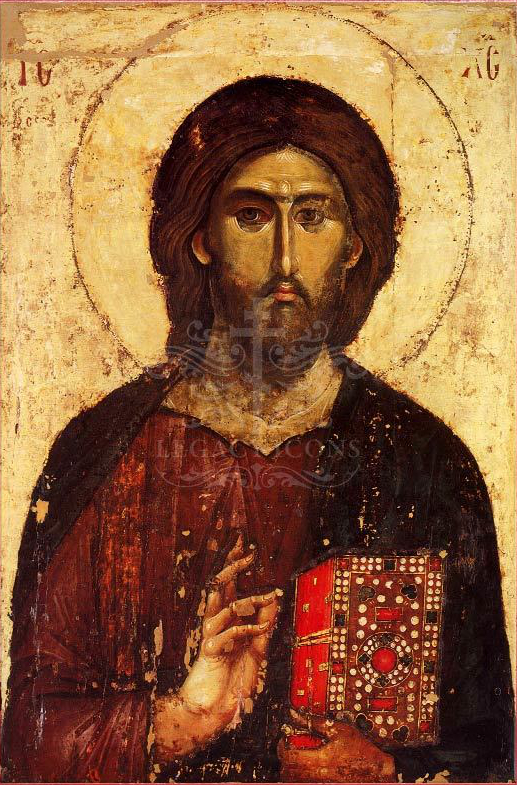 An icon of Christ Pantocrator.