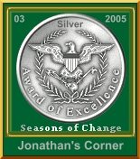 Seasons of Change Silver Award