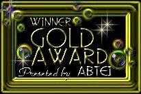 Gold Award Winner, presented by ABTEI