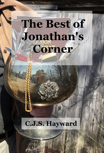 "A flipped cover for ""The Best of Jonathan's Corner"""