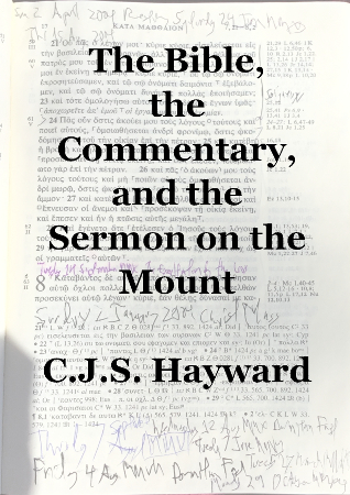 The Bible, the Commentary, and the Sermon on the Mount