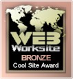 Web Worksite Bronze Cool Site Award